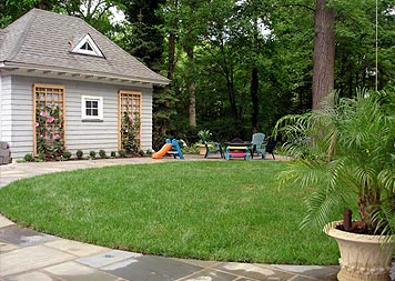 Residential Landscaping - Cranford Residence, After